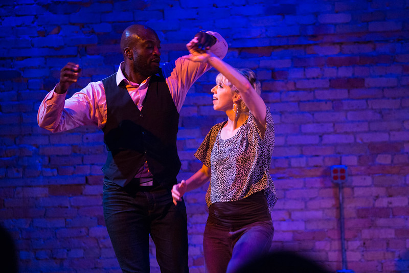 "Emily Oleson and Kwame Opare in ""Same Differents,"" featured on RS 2015."